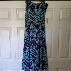 Lularoe Maxi skirt/dress, sz medium